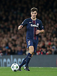 PSG's Thomas Meunier in action during the Champions League group A match at the Emirates Stadium, London. Picture date November 23rd, 2016 Pic David Klein/Sportimage