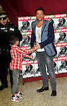 Peter Andre and JUNIOR  ( signing his ..latest album, Angels & Demons  at Tesos Kingston  Milton Keynes  31st  October 2012..Picture By: Brian Jordan / Retna Pictures.. ..-..