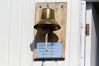 The pavilion bell during Essex CCC vs Lancashire CCC, Specsavers County Championship Division 1 Cricket at The Cloudfm County Ground on 7th April 2017