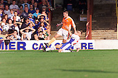23/09/2000 Football League Division 3 Blackpool v Chesterfield<br /> <br /> 38222 Bushell shot<br /> <br /> © Phill Heywood