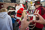 Annual Christmas Parade sponsored by IBCA on Main Street in downdown Ione, Amador County, Calif.