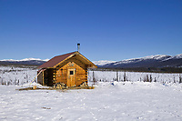 Cache creek cabin, White Mountains National Recreation Area, Interior, Alaska
