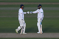 Tom Westley and Murali Vijay enjoy a useful partnership for Essex during Nottinghamshire CCC vs Essex CCC, Specsavers County Championship Division 1 Cricket at Trent Bridge on 12th September 2018