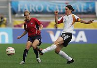 MAR 15, 2006: Faro, Portugal:  Birgit Prinz, Heather Mitts