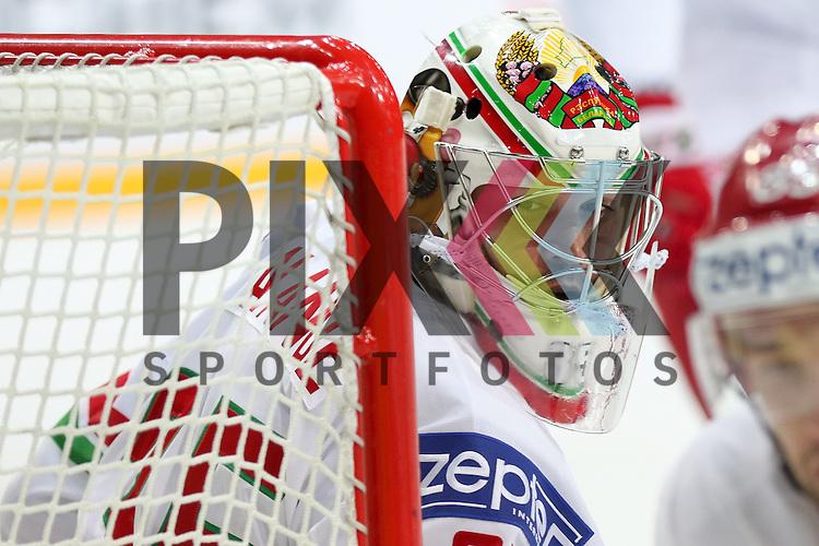 Belarus Lalande, Kevin (Nr.35)(CSKA Moscow)  im Spiel IIHF WC15 Canada vs. Belarus.<br /> <br /> Foto &copy; P-I-X.org *** Foto ist honorarpflichtig! *** Auf Anfrage in hoeherer Qualitaet/Aufloesung. Belegexemplar erbeten. Veroeffentlichung ausschliesslich fuer journalistisch-publizistische Zwecke. For editorial use only.