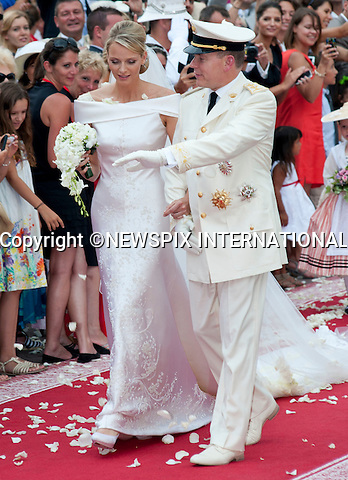 "MONACO ROYAL WEDDING .Prince Albert II and Princess Charlene Wittstock..Guests Arrive at the Religious wedding of H.S.H Prince Albert II and Miss Charlene Wittstock in the Prince's Palace._Prince's Palace Monaco 01/07/2011..Mandatory Photo Credit: ©Dias/Newspix International..**ALL FEES PAYABLE TO: ""NEWSPIX INTERNATIONAL""**..PHOTO CREDIT MANDATORY!!: NEWSPIX INTERNATIONAL(Failure to credit will incur a surcharge of 100% of reproduction fees)..IMMEDIATE CONFIRMATION OF USAGE REQUIRED:.Newspix International, 31 Chinnery Hill, Bishop's Stortford, ENGLAND CM23 3PS.Tel:+441279 324672  ; Fax: +441279656877.Mobile:  0777568 1153.e-mail: info@newspixinternational.co.uk"