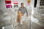NEW YORK -  SEPTEMBER 11, 2010:  Artist Rob Pruitt poses for a portrait at Gavin Brown's enterprise on September 11, 2010 in New York City.  (PHOTOGRAPH BY MICHAEL NAGLE)