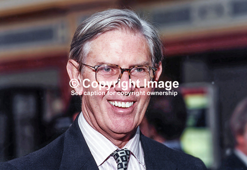 William Cash, MP, Conservative Party, UK, Westminster Parliament, 19951032/WC/1.<br /> <br /> Copyright Image from Victor Patterson, 54 Dorchester Park, Belfast, UK, BT9 6RJ<br /> <br /> t1: +44 28 9066 1296 (from Rep of Ireland 048 9066 1296)<br /> t2: +44 28 9002 2446 (from Rep of Ireland 048 9002 2446)<br /> m: +44 7802 353836<br /> <br /> e1: victorpatterson@me.com<br /> e2: victorpatterson@gmail.com<br /> <br /> The use of my copyright images is subject to my Terms &amp; Conditions.<br /> <br /> It is IMPORTANT that you familiarise yourself with them. They are available on my website at www.victorpatterson.com.<br /> <br /> None of my copyright images may be used on a website unless they are visibly watermarked, i.e. &copy; Victor Patterson within the body of the visible image. Metadata denoting my copyright must NOT be deleted. <br /> <br /> Web use is extra at currently recommended NUJ rates.