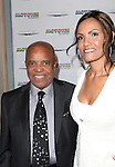 Berry Gordy Jr. and Eskedar Gobeze attending the Broadway World Premiere Launch for 'Motown: The Musical' at the Nederlander in New York. Sept. 27, 2012