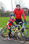 Mark and David Jordan at the Operation Transformation 10km cycle from Ardee Parish Centre.