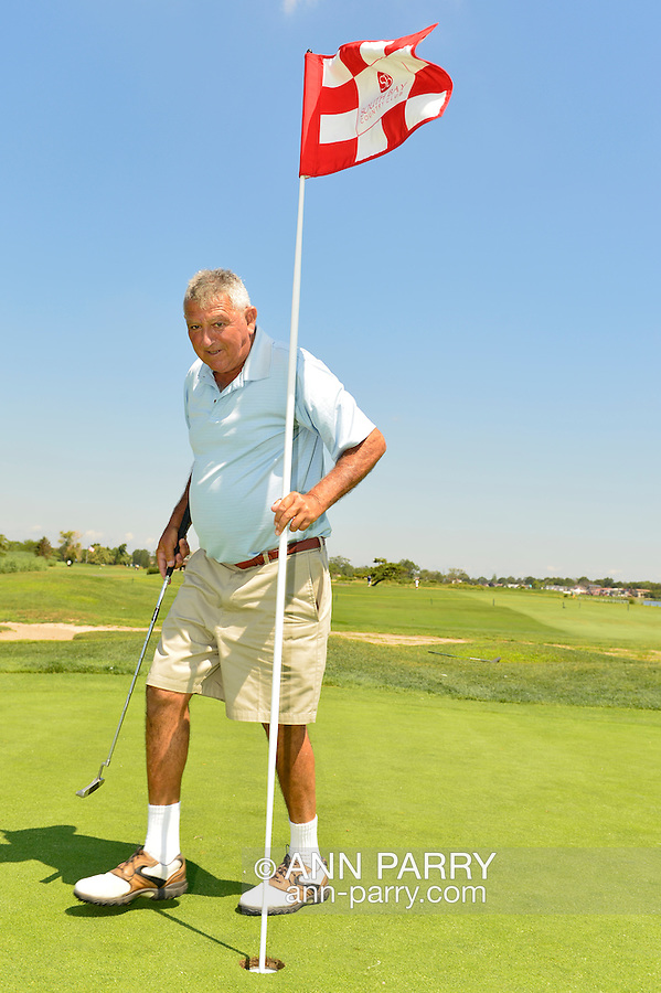 Oceanside, New York, USA. 2nd August 2013. LEON PALEY, of Neponsit, NY, is golfing at South Bay Country Club.<br /> | You/Your Property in photo? Mention that when you use CONTACT page: http://ann-parry.photoshelter.com/contact