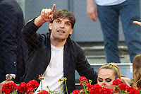 Real Madrid's legends Fernando Morientes during Madrid Open Tennis 2018 match. May 11, 2018.(ALTERPHOTOS/Acero) /NORTEPHOTOMEXICO