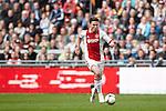 Nederland, Amsterdam, 22 april 2012.Seizoen 2011/2012.Eredivisie.Ajax_FC Groningen.Derk Boerrigter van Ajax in actie met de bal