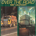 Published photography by Larry Angier..OVer the Road 1997 Calendar cover, Browntrout Publishers