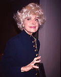 Carol Channing in New York City. September 1, 1991