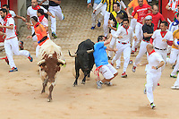 Encierro Jose Escolar, San Femin Pamplona 11 de julio 2015