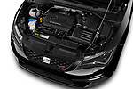 Car Stock 2017 Seat Leon-ST-Cupra - 5 Door Wagon Engine  high angle detail view