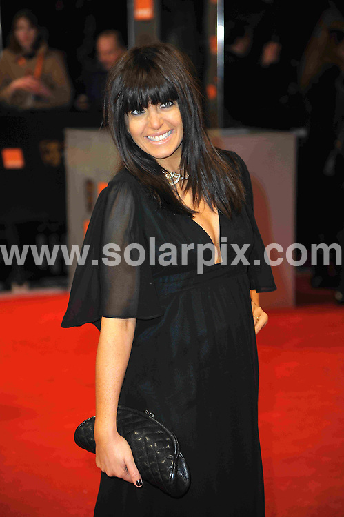 **ALL ROUND PICTURES FROM SOLARPIX.COM**                                             **WORLDWIDE SYNDICATION RIGHTS**                                                                                  Caption: Orange British Academy Film Awards at The .Royal Opera House in Covent Garden London                                                                              This pic: Claudia Wiknleman                                                                                         JOB REF:14467        MSR       DATE: 12.02.2012                                                           **MUST CREDIT SOLARPIX.COM OR DOUBLE FEE WILL BE CHARGED**                                                                      **MUST AGREE FEE BEFORE ONLINE USAGE**                               **CALL US ON: +34 952 811 768 or LOW RATE FROM UK 0844 617 7637**