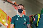 Ankunft am Stadion, Joshua Sargent (Werder Bremen #19)<br /> <br /> <br /> Sport: nphgm001: Fussball: 1. Bundesliga: Saison 19/20: 33. Spieltag: 1. FSV Mainz 05 vs SV Werder Bremen 20.06.2020<br /> <br /> Foto: gumzmedia/nordphoto/POOL <br /> <br /> DFL regulations prohibit any use of photographs as image sequences and/or quasi-video.<br /> EDITORIAL USE ONLY<br /> National and international News-Agencies OUT.