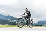 09.07.2019, Zell am Ziller, AUT, TL Werder Bremen Zell am Ziller / Zillertal Tag 05<br /> <br /> im Bild<br /> Yannik <br /> auf Mountainbike bei Radtour im Zillertal <br /> <br /> Foto © nordphoto / Ewert