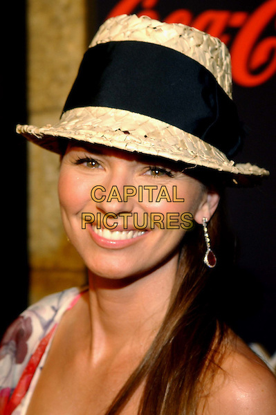 SHANIA TWAIN.Teen People's 5th Anniversary Party held at The Ivar in Hollywood .headshot, portrait, hat.www.capitalpictures.com.sales@capitalpictures.com.©Capital Pictures