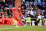 Celta de Vigo's Sergio Alvarez during Copa del Rey match between Real Madrid and Celta de Vigo at Santiago Bernabeu Stadium in Madrid, Spain. January 18, 2017. (ALTERPHOTOS/BorjaB.Hojas)
