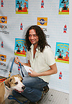 "Constantine Maroulis - B & B stars in Rock of Ages at Broadway Barks 11 - a ""Pawpular"" star-studded dog and cat adopt-a-thon on July 11, 2009 in Shubert Alley, New York City, NY. (Photo by Sue Coflin/Max Photos)"