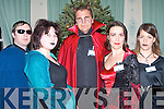Members of Paul Dee Entertainment at the Chernobyl Childrens Project International Christmas Murder Mystery at Ballyseede Castle on Friday l-r: Christopher Hennessy, Sinead O'Connor, Dave Clarke, Fiona Simpson and Lindsey Crean.   Copyright Kerry's Eye 2008