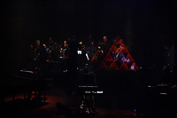Rhian Sheehan - A Quiet Divide Live at Michael Fowler Centre, Wellington, New Zealand on Friday 12 October 2018. <br /> Photo by Masanori Udagawa. <br /> www.photowellington.photoshelter.com