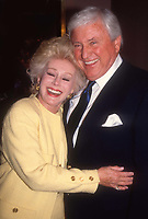 #MervGriffin #EvaGabor 1989<br /> Photo By Adam Scull/PHOTOlink.net