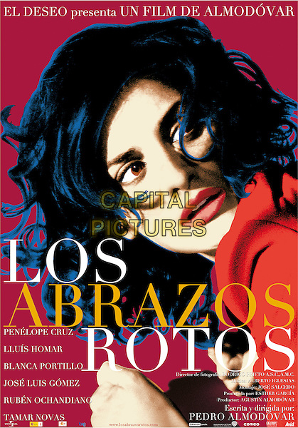POSTER ART.in Broken Embraces (Los abrazos rotos).*Filmstill - Editorial Use Only*.CAP/PLF.Supplied by Capital Pictures.