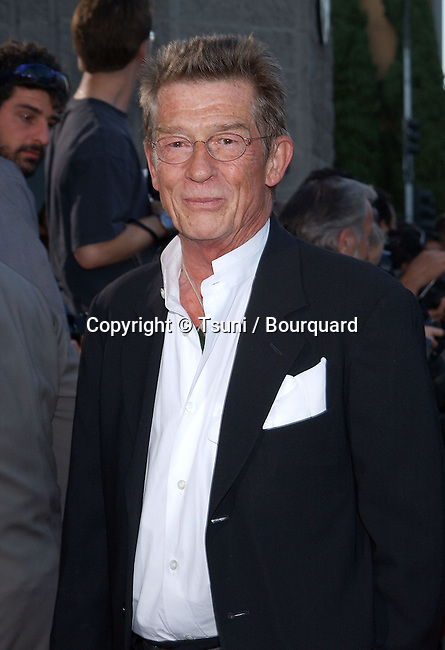 John Hurt arriving at the premiere of Captain Corelli's Mandolin  at the Academy of Motion Picture in Los Angeles. August 13, 2001   © Tsuni          -            HurtJohn02.jpg