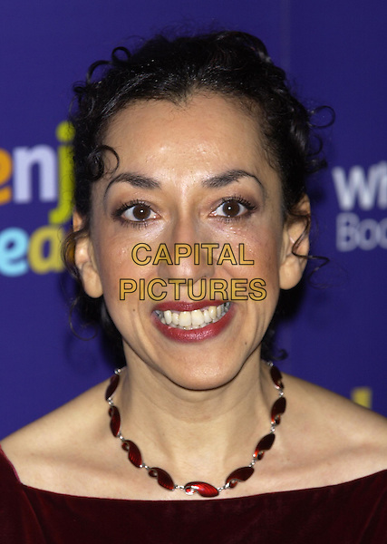 ANDREA LEVY.Whitbread Book of the Year Award 2004, The Brewery, Chiswell Street, London, January 25th 2005..portrait headshot.Ref: PL.www.capitalpictures.com.sales@capitalpictures.com.©Capital Pictures.