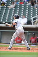 ***Temporary Unedited Reference File***Pensacola Blue Wahoos second baseman Zach Vincej (3) during a game against the Birmingham Barons on May 2, 2016 at Regions Field in Birmingham, Alabama.  Pensacola defeated Birmingham 6-3.  (Mike Janes/Four Seam Images)