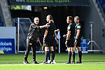 Trainer Urs Fischer (Union Berlin, l.) nach dem Spiel bei Schiedsrichter Robert Hartmann.<br /> <br /> Sport: Fussball: 1. Bundesliga: Saison 19/20: 33. Spieltag: TSG 1899 Hoffenheim - 1. FC Union Berlin, 20.06.2020<br /> <br /> Foto: Markus Gilliar/GES/POOL/PIX-Sportfotos<br /> <br /> Foto © PIX-Sportfotos *** Foto ist honorarpflichtig! *** Auf Anfrage in hoeherer Qualitaet/Aufloesung. Belegexemplar erbeten. Veroeffentlichung ausschliesslich fuer journalistisch-publizistische Zwecke. For editorial use only. DFL regulations prohibit any use of photographs as image sequences and/or quasi-video.