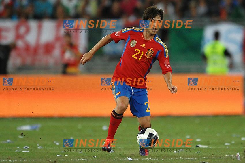 "David SILVA Spain.BAri 10/8/2011 Stadio ""San Nicola"".Football / Calcio Friendly Match.Italia Vs Spagna / Italy Vs Spain.Foto Insidefoto Andrea Staccioli"