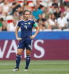 09.06.2019 England v Scotland Women: Rachel Corsie