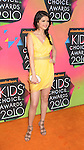 LOS ANGELES, CA. - March 27: Selena Gomez  arrives at Nickelodeon's 23rd Annual Kid's Choice Awards at Pauley Pavilion on March 27, 2010 in Los Angeles, California.