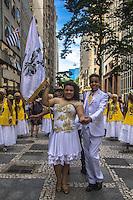 SÃO PAULO,SP, 22.02.2017 - CARNAVAL-SP - Desfile do bloco de carnaval contra a exploração infantil no centro de São Paulo (SP), nesta quarta-feira (22). Soninha Francine, secretária municipal de Assistência e Desenvolvimento Social participou do evento. (Foto: Danilo Fernandes/Brazil Photo Press)