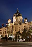 Naturhistorisches Museum am Maria-Theresien-Platz, Wien, &Ouml;sterreich, UNESCO-Weltkulturerbe<br /> Museum of Natural History, Vienna, Austria, world heritage