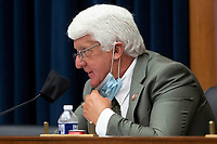 United States Representative Rob Bishop (Republican of Utah) speaks during the US House Natural Resources Committee hearing on 'The US Park Police Attack on Peaceful Protesters at Lafayette Square', on Capitol Hill in Washington, DC, USA, 29 June 2020. The death of George Floyd while in Minneapolis police custody has sparked protests demanding policing reform and racial equality. Amidst protests authorities cleared Lafayette Square, 01 June 2020, before US President Donald J. Trump walked across the park and visited St. John's Church.<br /> Credit: Michael Reynolds / Pool via CNP / MediaPunch