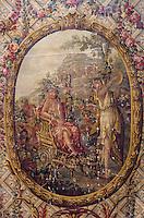 Europe/France/Limousin/23/Creuse/Aubusson: Le musée de la Tapisserie - Le triomphe de Bacchus - Carton de Tapisserie XIXème