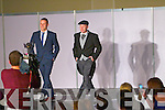 Michael Healy Rae modelling at the fashion show in aid of the Motor Neurone Disease Association and the Palliative Care Unit at Kerry General Hospital, held in the Brandon Hotel on Saturday evening.