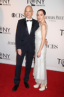 Michael Cerveris and Kimberly Kay at the 66th Annual Tony Awards at The Beacon Theatre on June 10, 2012 in New York City. Credit: RW/MediaPunch Inc.