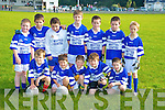 The Templenoe team who competed in the Glenflesk U10 football blitz on Saturday..Ian O'Connor, Ryan Sheehan, Neil O'Sullivan, Jordan Smith, William Gudgeon, Ciaran Crowley, Tom Looney, Eoin Murphy, William Sheehy, Darragh O'Connor, Mattie Sullivan and Mark Looney..   Copyright Kerry's Eye 2008