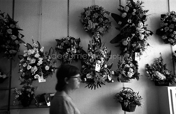 """Let's call your sister and get her opinion on how we should arrange the grave. I would like her conscent before we decide on the flowers and so on."" says my mother to me.....© Magali Corouge/Documentography.2004-2006.France"