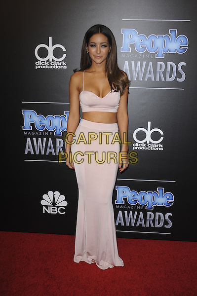 BEVERLY HILLS, CA - DECEMBER 18: Melanie Iglesias attends the People Magazine Awards at The Beverly Hilton Hotel on December 18, 2014 in Beverly Hills, California.  <br /> CAP/MPI/PGMP<br /> &copy;PGMP/MPI/Capital Pictures