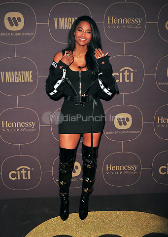 NEW YORK, NY - JANUARY 25: Ciara at the  Warner Music Group Pre Grammy Celebration at The Grill/The Pool in New York City on January 25, 2018. Credit: John Palmer/MediaPunch