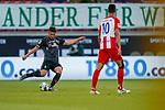 Milos Veljkovic (Werder Bremen #13), Tim Kleindienst (1. FC Heidenheim 1846 #10)<br /> <br /> <br /> Sport: nphgm001: Fussball: 1. Bundesliga: Saison 19/20: Relegation 02; 1.FC Heidenheim vs SV Werder Bremen - 06.07.2020<br /> <br /> Foto: gumzmedia/nordphoto/POOL <br /> <br /> DFL regulations prohibit any use of photographs as image sequences and/or quasi-video.<br /> EDITORIAL USE ONLY<br /> National and international News-Agencies OUT.