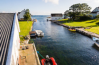 Norway, Rennesøy. Klosterøy Island.